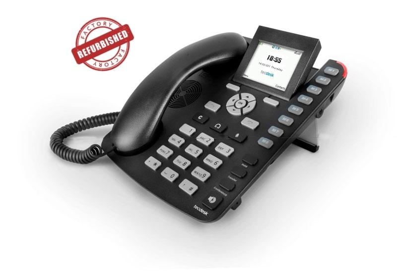 Tecdesk 3600 3G/GSM Bordtelefon med Bluetooth – DK **(Refurbished/DEMO)**
