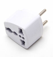 Power adapter – UK/US/AU hun til DK (EU) han
