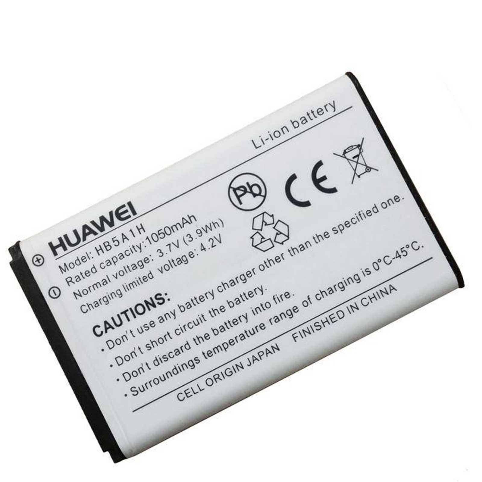 Huawei HB5A1H Batteri – 3.7V / 1050mAh