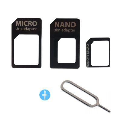 Sim Kort Adapter Nano, Micro til Mini (alm)